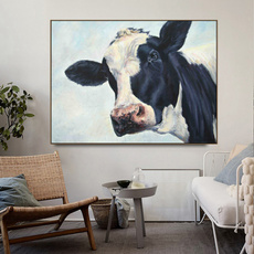 Home & Kitchen, Decor, living room, cow