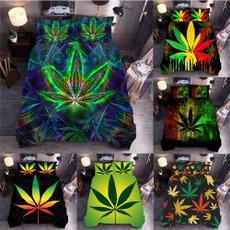 Decor, leaf, Tie Dye, Bedding