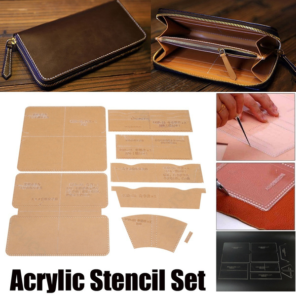 art, Home & Living, Sewing, leathertemplate