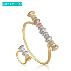 Copper, flowerjewelryset, Jewelry, gold