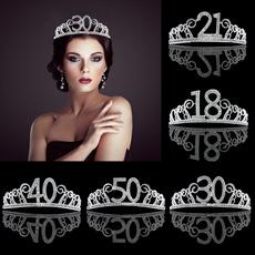 princesscrown, birthdaydiadem, silverdiadem, crown