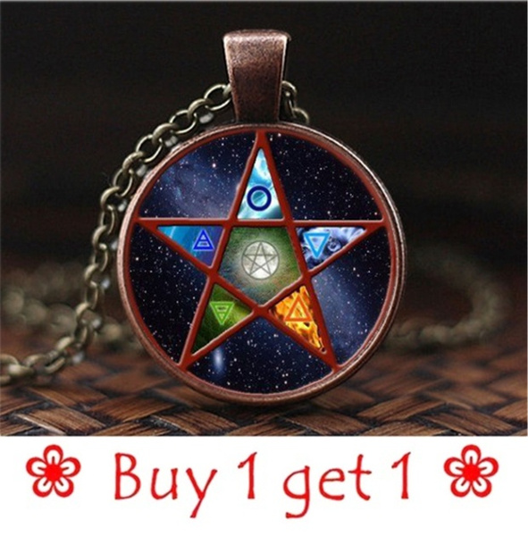 wiccan, Chain Necklace, Fashion, Jewelry