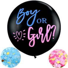 latex, genderrevealbabydecoration, Balloon, babygenderreveal