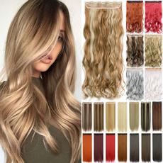naturalhairextension, Fiber, clip in hair extensions, Straight Hair