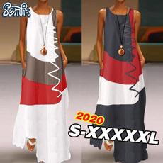 Summer, Plus Size, sundress, long dress