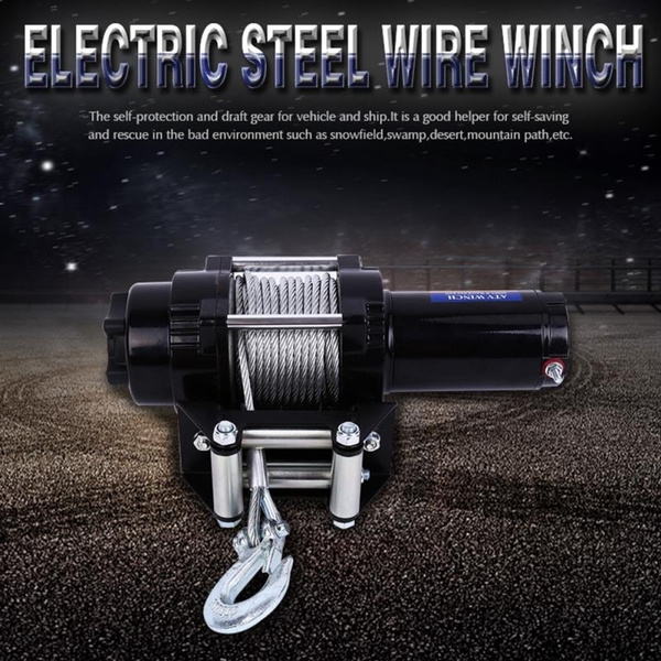 Steel, recoverywinch, electrichoist, Remote