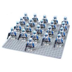 brickfigure, Blues, clonetrooper, Action & Toy Figures