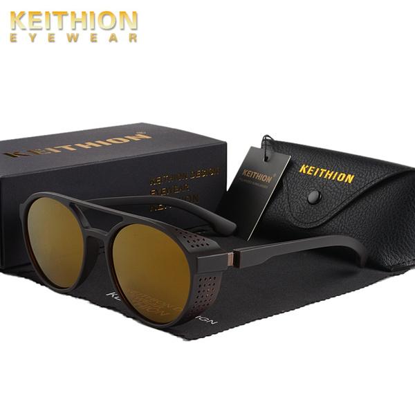 retro sunglasses, Fashion, Sports & Outdoors, Round Sunglasses