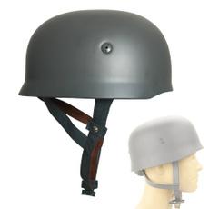 Steel, Helmet, leather, m38helmet