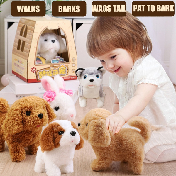 electronicpet, pet dog, Plush, Toy