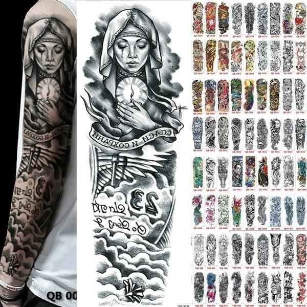 tattoo, skull, mentattoo, Waterproof
