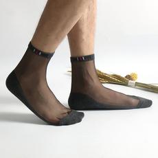 Stylish, Men, Socks, transparent