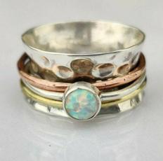 Sterling, Vintage, Jewelry, 925 silver rings