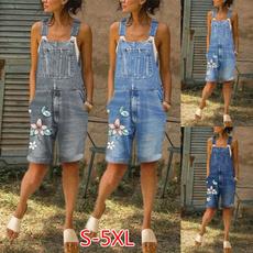 Summer, Women Rompers, Shorts, plus size jeans