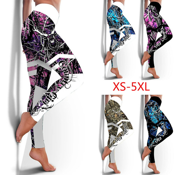 Camouflage Leggings, Leggings, countrygirllegging, Yoga