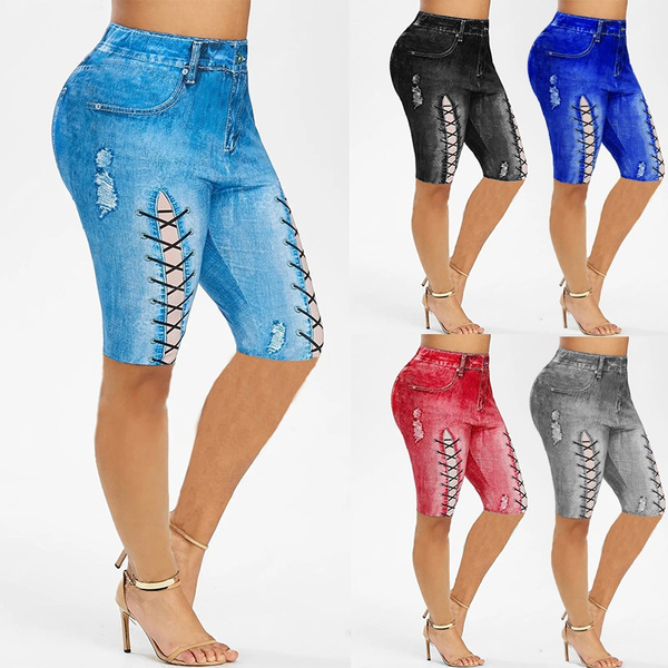 Leggings, Plus Size, capri leggings, high waist