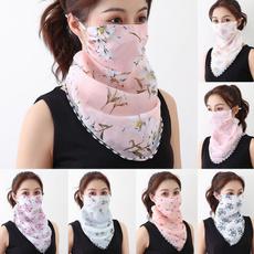 dustproofneckscarfmask, Summer, Scarves, Outdoor