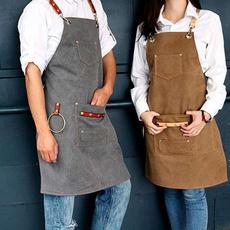 apron, Coffee, cookingapron, canvasapronbibleatherchef