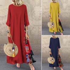 splicedre, Dress, maxi dress, Women's Fashion