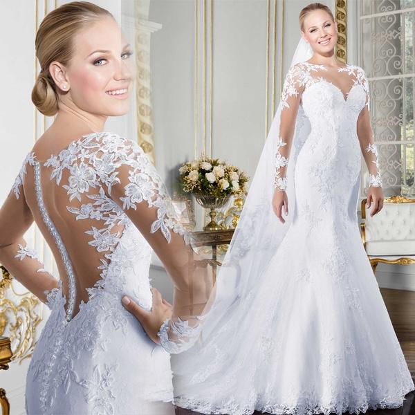 Ivory, Fashion, Lace, bridalpartydres