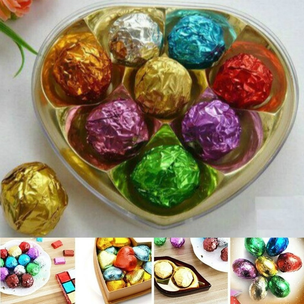 squarefoilwrapper, Christmas, chocolatewrapper, sweetspaper
