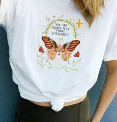 butterfly, rainbow, Fashion, cute