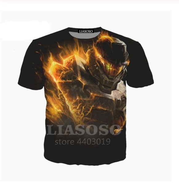Fashion, fashionwomenshirt, Shirt, 3danimalprintingtshirt