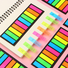 officeampschoolsupplie, stickynote, Colorful, Bookmarks