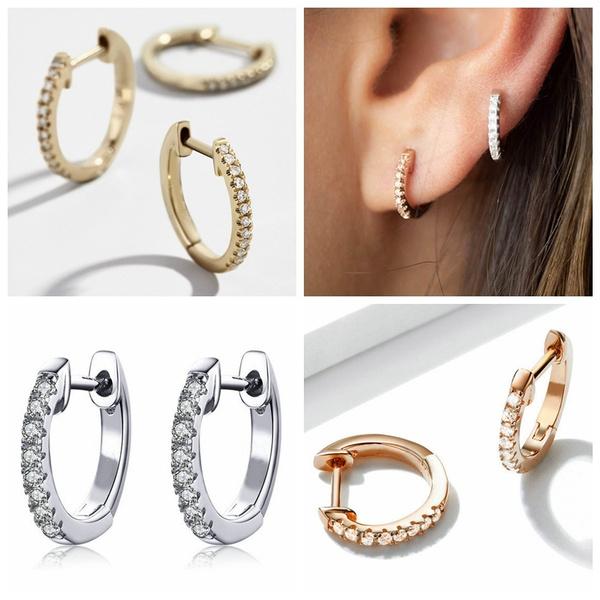 Sterling, Earring Cuff, Hoop Earring, Jewelry