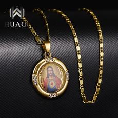 Joyería de pavo reales, Chain Necklace, DIAMOND, Christian