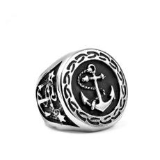 Steel, sakering, vintage ring, Jewelry