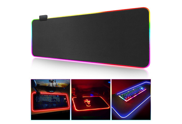 Mouse Pad Gaming Mouse Pad Large Rgb Computer Mause Pad Xxl Mousepad Gamer Keyboard Mause Carpet Desk Mat Pc Game Mouse Pad Wish
