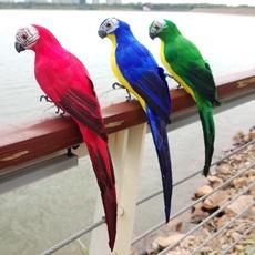 simulationbird, Garden, Parrot, Ornament