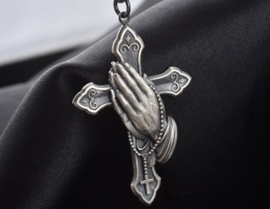 titanium steel, Christian, Jewelry, Cross