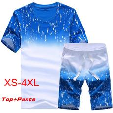 Mens T Shirt, Shorts, Cotton T Shirt, Sleeve