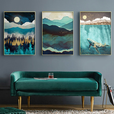 whale, Mountain, Decor, posters & prints