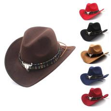 woolcowboyhat, Jazz, Cowboy, Cap