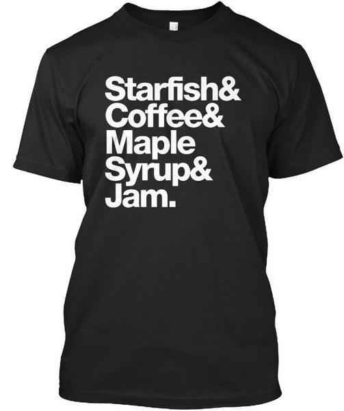 Summer, Coffee, Shirt, starfish