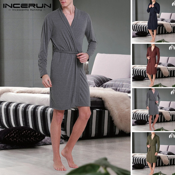 gowns, nightwear, menbathrobe, Home & Living