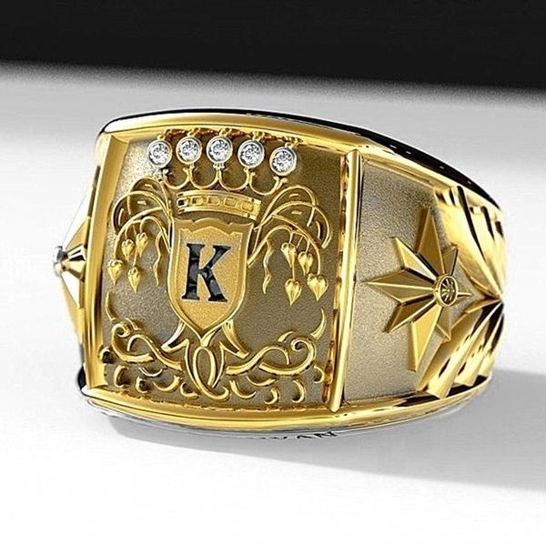 ringsformen, Fashion, Vintage, gold