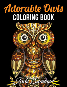 cute, Owl, adorableowlscoloringbook, coloringbook