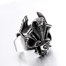Steel, Cobra, Stainless Steel, Jewelry