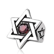 Steel, hexagonalstar, Star, Jewelry