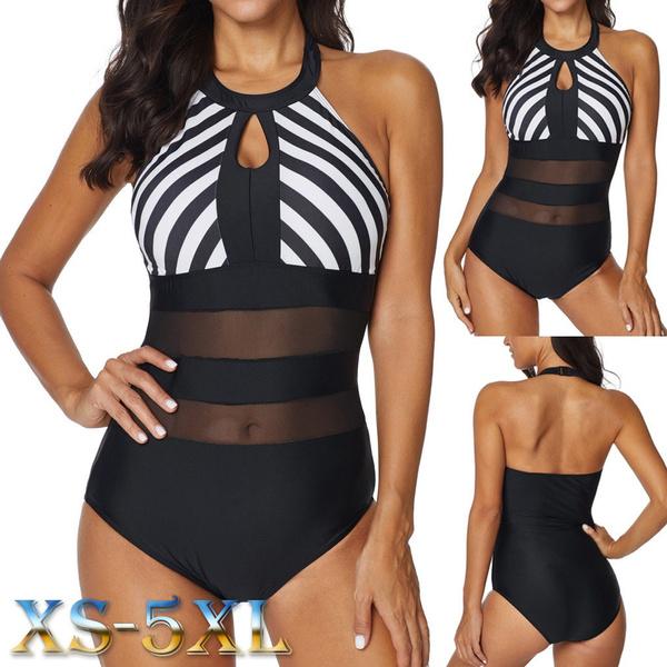 Summer, Plus Size, bikini set, Halter