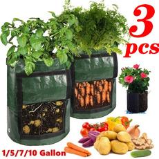 Plants, Flowers, potatobag, vegetabletool
