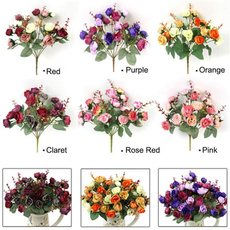silkflower, Flowers, art, Bouquet