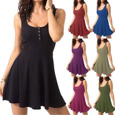 Mini, summer dress, Summer, sleevelssdre