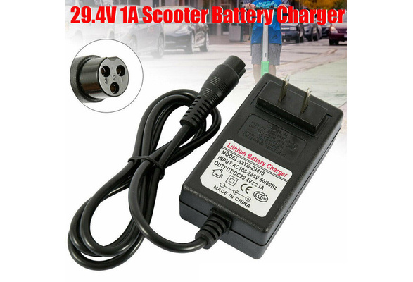 yanw 24V 1A AC//DC Adapter for Electric 24 Volt Pulse Charger Electric Scooter Power