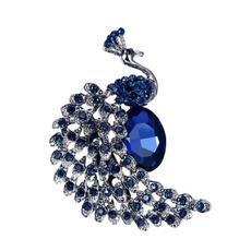 coatbrooch, Blues, diamondbrooch, Fashion