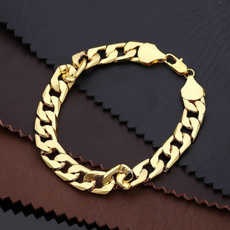 hip hop jewelry, gold bracelet, Chain, stainlesssteelbracelet